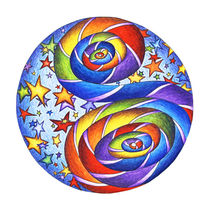Stars N Stripes Mandala von themandalalady