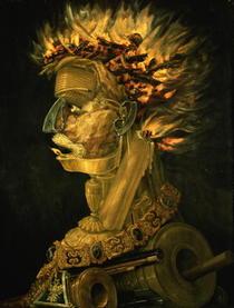 Feuer von Giuseppe Arcimboldo