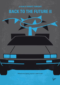 No183 My Back to the Future minimal movie poster-part II von chungkong