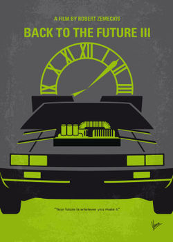 No183-my-back-to-the-future-minimal-movie-poster-part-iii