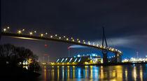 Köhlbrandbrücke Hamburg by Dennis Stracke