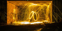 Stahlwolle Lightpainting die 8 by Dennis Stracke