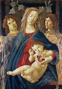 Madonna mit dem Granatapfel von Sandro Botticelli