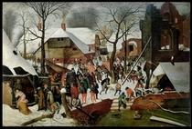 Anbetung der heiligen drei Könige von Pieter Brueghel the Elder