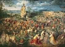Christ carrying the Cross by Pieter Brueghel the Elder