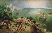 Landscape with the Fall of Icarus by Pieter Brueghel the Elder
