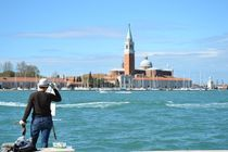 Portrait of a Painter - Canale di San Marco, Venice by OG Venice Italy Travel Guide