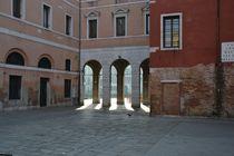 Rialto Erbaria Lines & Light - Venice by OG Venice Italy Travel Guide