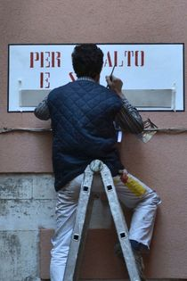 The Sign Painter - Venice by OG Venice Italy Travel Guide