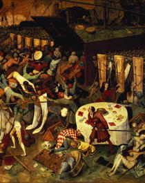 The Triumph of Death, detail of the lower right section by Pieter Brueghel the Elder