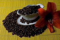 Kaffeebohnenverführung von Kathleen Follert
