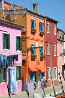 Colors of Burano - Venice von OG Venice Italy Travel Guide