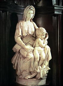 Madonna and Child by Buonarroti Michelangelo