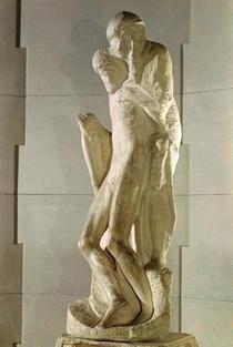 Rondanini Pieta von Buonarroti Michelangelo