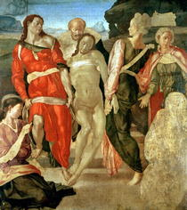 The Entombment by Buonarroti Michelangelo