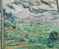 Montagne Sainte-Victoire by Paul Cezanne