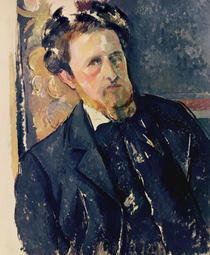 Portrait of Joachim Gasquet by Paul Cezanne