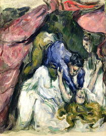 The Strangled Woman by Paul Cezanne