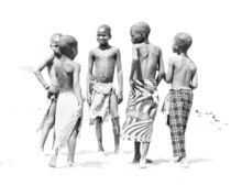 Himba Boys in a Circle  by Matilde Simas