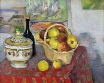Still Life with Tureen by Paul Cezanne