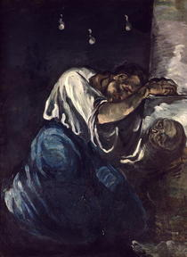 La Madeleine, or La Douleur by Paul Cezanne