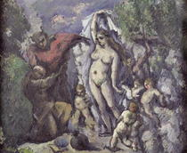 The Temptation of St. Anthony by Paul Cezanne