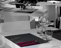 gedeckter Tisch.... von Sandra Probstfeld