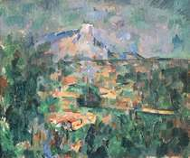 Montagne Sainte-Victoire from Lauves by Paul Cezanne
