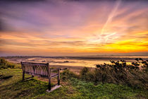 Sunrise on the River Taw Estuary by Dave Wilkinson
