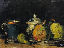 Still Life by Paul Cezanne