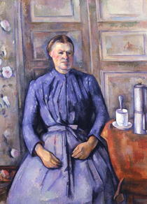 Woman with a Coffee Pot by Paul Cezanne