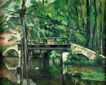 The Bridge at Maincy, or The Bridge at Mennecy, or The Little Br by Paul Cezanne