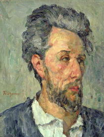 Portrait of Victor Chocquet by Paul Cezanne