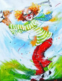 Clown Mr.Green by Barbara Tolnay