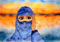 Junge Beduinenfrau  by Ulrike Kröll