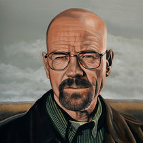 Walter White painting by Paul Meijering