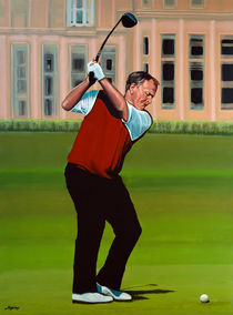 Jack Nicklaus painting by Paul Meijering