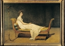 Madame Recamier von Jacques Louis David