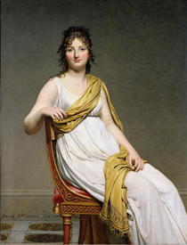 Portrait von Madame Raymond de Verninac von Jacques Louis David