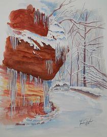 Wasserfelsen by Theodor Fischer