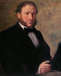 Portrait of Monsieur Ruelle by Edgar Degas