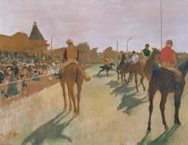 Die Parade von Edgar Degas