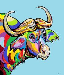 Buffalo von eloiseart