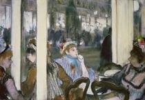 Frauen auf der Cafeterrasse von Edgar Degas