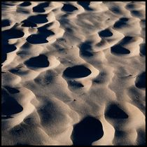 foot prints in the sand by christophrm