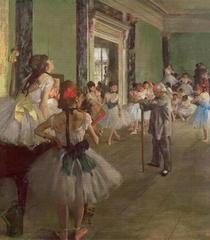 Ballettprobe von Edgar Degas