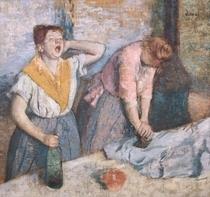 Die Waschfrauen von Edgar Degas