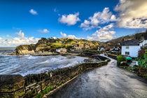 Lee Bay North Devon by Dave Wilkinson