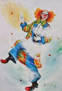 Clown Jonas by Barbara Tolnay