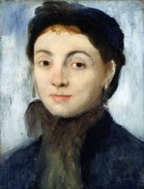 Portrait of Josephine Gaujelin by Edgar Degas